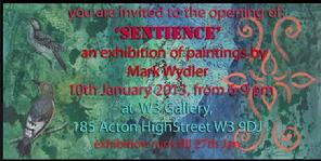 What's on in Acton in January 2013? Mark Wydler exhibition at W3 Gallery, Acton. Links from Is-Harmony Ltd