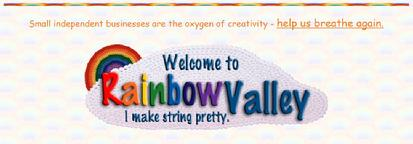 Enfys aka Rainbow Valley, from Our Craft Shops, links from Isabella Wesoly at Is-Harmony dot com